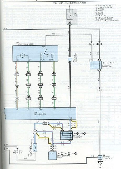 here are scans of the factory locker electrical diagrams (courtesy of  dandeman) for those of you who aren't as lucky as me to be partially  pre-wired